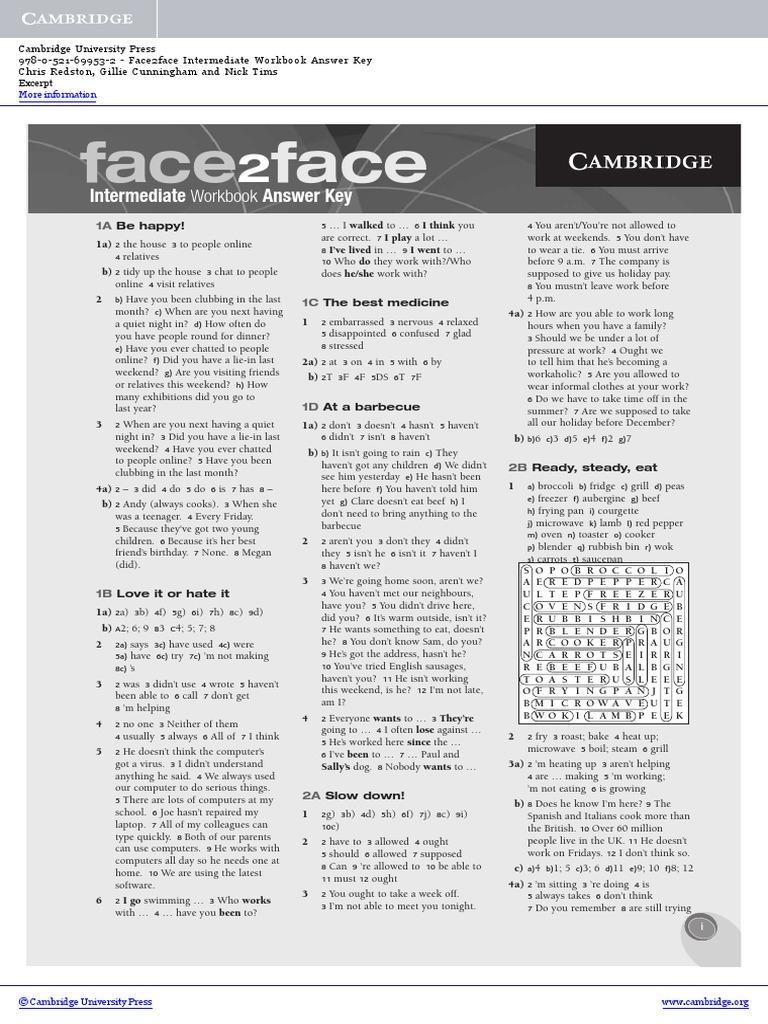 Workbooks spanish three workbook answers : workbook answer.pdf | Verb | Foods