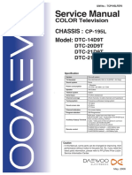 Daewoo Chassis CP-195L