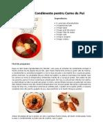 Amestecuri de Condimente Pentru Carne de Pui