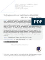 Jurnal 2 (Internasional) - The Relationship Between Capital Structure and Profitability.pdf