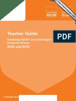 0478 2210 Computer Science Teacher Guide 2014