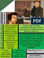 04 - Reforma Que é Isto - Os Cinco Solas Da Reforma