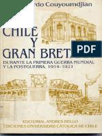 Chile y Gb Durante La Primera Guerra Mundial y La Postguerra