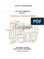 A Virtual Tour of Europe