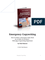 Emergency Copywriting