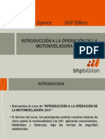 Presentación Int. Op. Motoniveladora 16 H