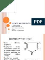 Heme Synthesis