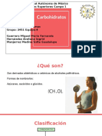 Carbohidratos BQS