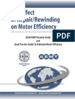 The Effect of Repair_Rewinding on Motor Efficiency