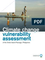 Climate Change Vulnerability Assessment of the Verde Island Passage, Philippines