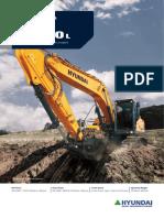 Hyundai HX220L crawler excavator
