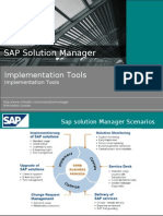 Sap Solution Manager -  Implemetation Tools