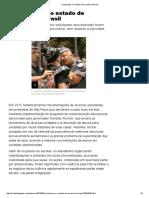 A Educação e o Estado de Exceção No Brasil