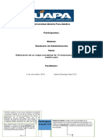Informe 3 de Seminario de Administracion