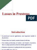 Losses in Prestressed Concrete