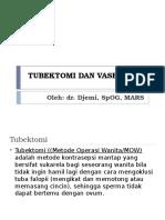Tubektomi Dan Vasektomi Ppt
