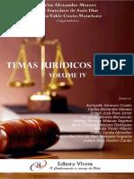 Temas Jurídicos Atuais - Volume IV - 2016