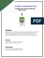 sustainable adhesive 2nd grade stem challenge