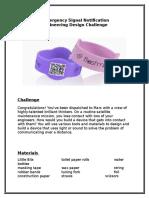 emergency communication stem challenge