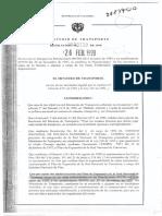 Resolucion 339 de 1999 MINISTERIO DE TRANSPORTE.pdf