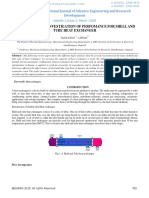 Review Paper on Investigation of Perfomance for Shell and Tube Heat Exchanger -45688