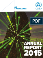 united nations environment programme - annual 2015