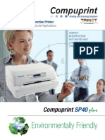 Compuprint Sp40 Plus