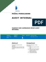 MODUL I Audit Internal