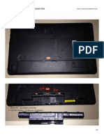 Acer P253M Disassembly