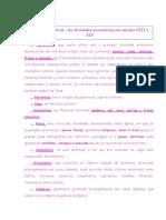 Ficha Informativa as Atividades Económicas Sec XIII e XIV