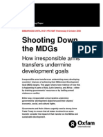 Shooting Down the MDGs.oxfam