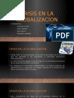 Crisis en La Globalizacíon