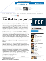 Jose Rizal_ the Poetry of Patriotism _ Inquirer Opinion