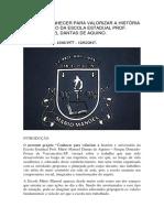 Projeto 40 Anos Da Escola Mário Manoel.