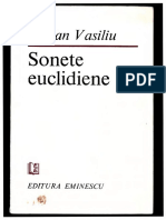 Adrian Vasiliu - Sonete Euclidiene