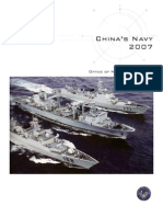 ONI China Navy 2007