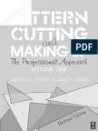 Pattern Cutting Making Up