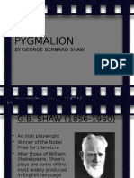 An Introduction to George Bernard Shaw & Pygmalion