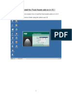 Sage X3 - User Guide - How to Install the Fixed Assets add-on in V5.1.doc