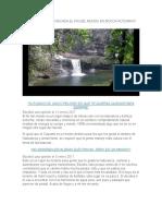 Ensayo Sobre La Cascada El Fin Del Mundo en Mocoa Putumayo