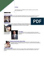 Escritores Guatemaltecos y Siglas