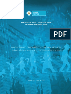 Calendario Escolar Valencia 2020 18.Envejecimiento Demografico Colombia 1951 2020 Pdf