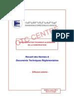 Recueil des normes et DTR 01 mars 2011.pdf