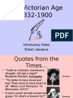Victorian Intro