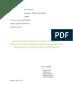 Proyecto Recoleccion, Tratamiento y Disposicion de Desechos Solidos