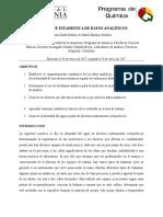 Informe 4 Quimica Analitica