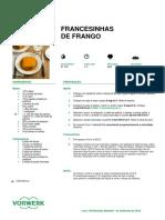 Francesinha de Frango