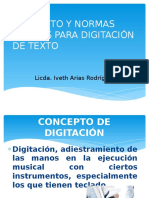 Digitacion de Textos