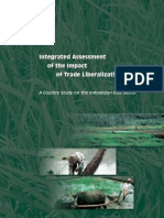 Integrated Assessment of the Impact of Trade Liberalization on the Indonesian Rice Sector