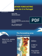 WEATHER FORECASTING, how we do it in Portugal-Paula Leitão